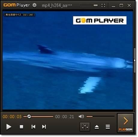 GOMPlayerで倍速設定